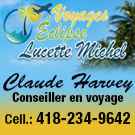 Claude Harvey Conseiller en voyage